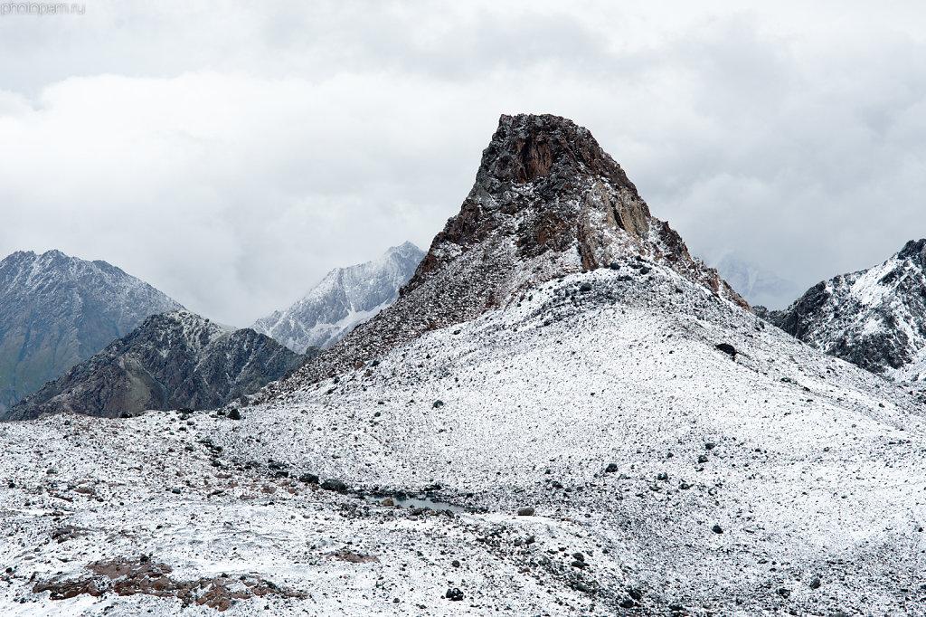 Первый снег 12 августа